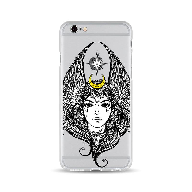 Lady with Eagle Wings - DesignoCase