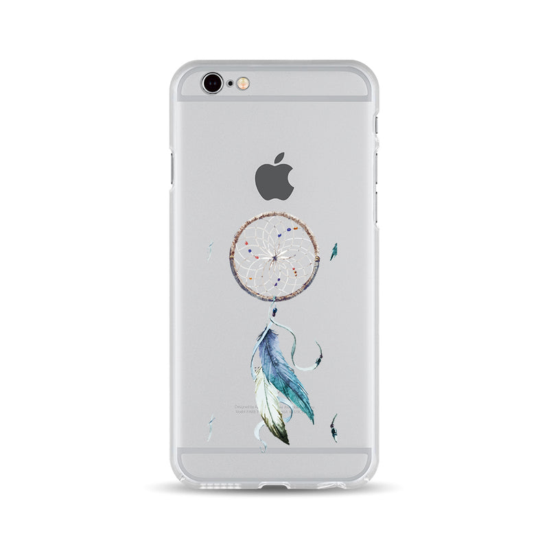 Blue Feathers Dreamcatcher Customized phone case - DesignoCase