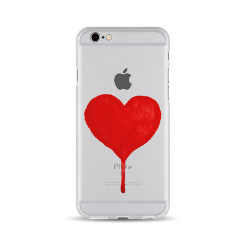 Flooding Red Heart - DesignoCase