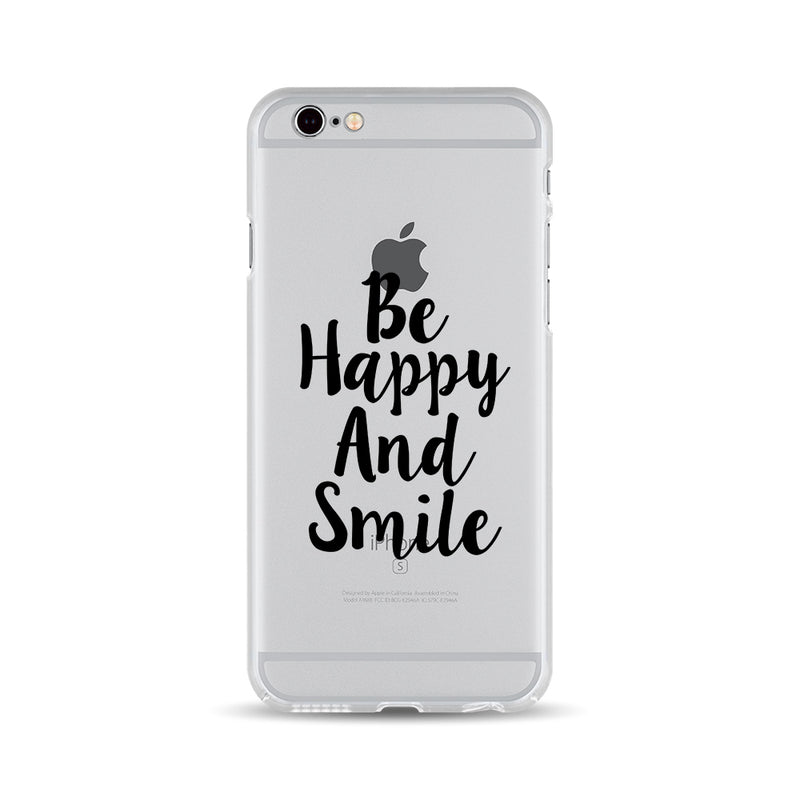 Be Happy And Smile Cool phone case - DesignoCase