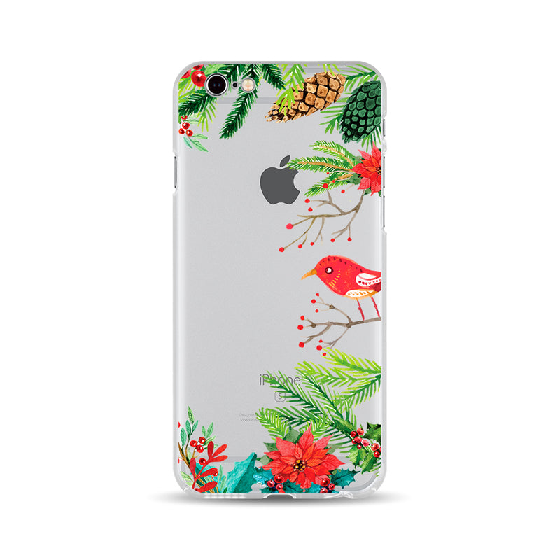 Red Christmas Bird - DesignoCase