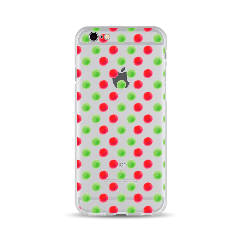 Red and Green Dots - DesignoCase