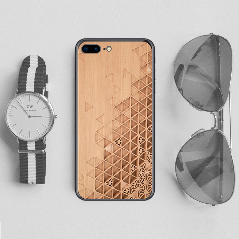 Carved Wood Phone cases custom - DesignoCase