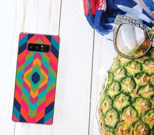Colourful Geometric Pattern - DesignoCase