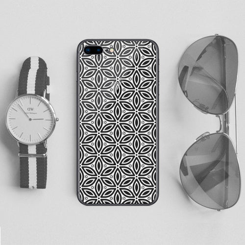 Floral Seamless Embossed Pattern - DesignoCase