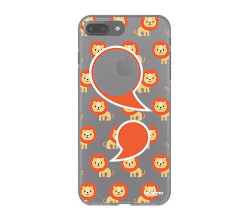 Iphone 7 Plus Small Lions Designs - DesignoCase