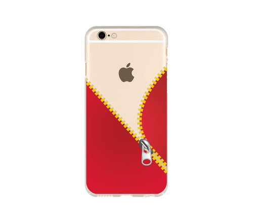 Custom iPhone Case: Zipper Template - DesignoCase