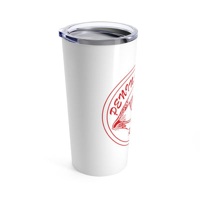Peninsula Redeyes White Stainless Steel Tumbler - 20 oz.