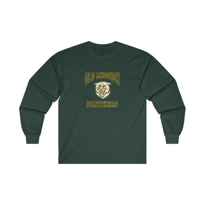Old Mission Panthers Unisex Cotton Long Sleeve Tee