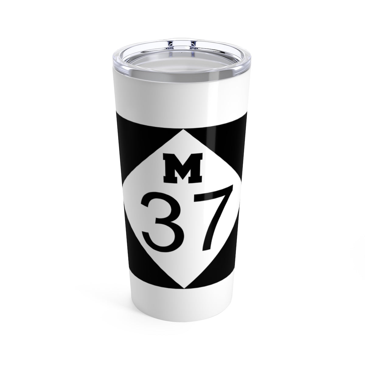 M37 White Stainless Steel Tumbler - 20 oz.
