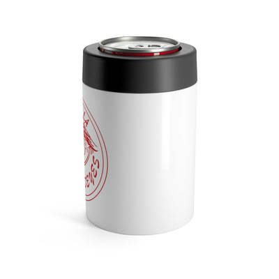 Peninsula Redeyes White Stainless Steel Can Holder