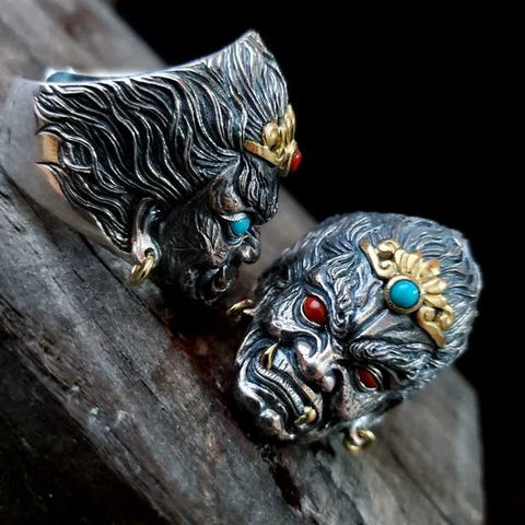Fudo Myo Silver Ring