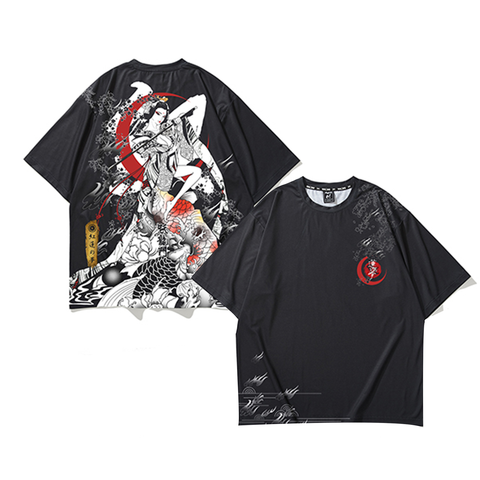 Moonlight Bugeisha X Koi T-Shirt