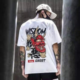 邪恶 ''Evil''- Red Hannya Mask Tee