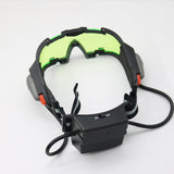 LED Cyberpunk Tactical Goggles