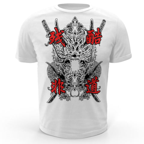 BLAINES Roaring Dragon White Shirt