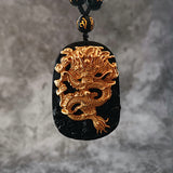 Shenron Golden Dragon Necklace