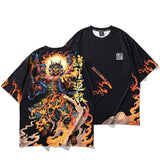 Kajin Fire God T-Shirt By Irezumi Empire