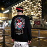 Good Vs Evil Japanese Sweatshirt