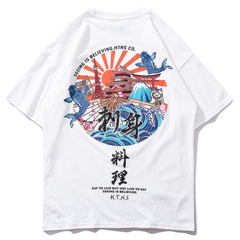 Temple Of The Rising Sun Tee