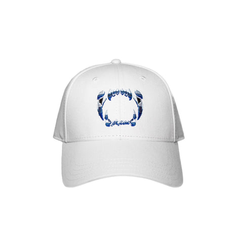COLMILLOS SIXNE  Dad Hat / White
