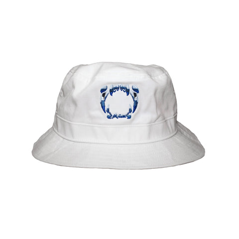 COLMILLOS SIXNE  Bucket Hat / White