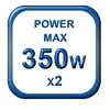 350w powerful motors
