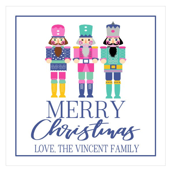 Personalized Christmas Nutcracker Gift Tags