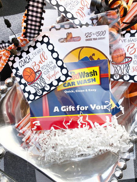 """I've Had a Ball"" Personalized Gift Tags"