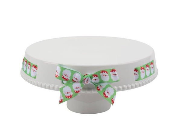 Ribbon Chip & Dip Tray/Cake Stand (All 1 unit)