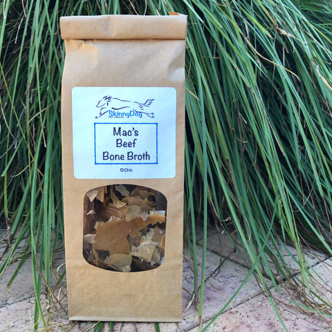 Mac's Beef Bone Broth Flakes 50g