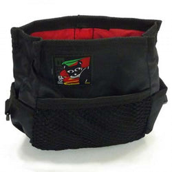 BlackDog Treat Tote with Belt - Black