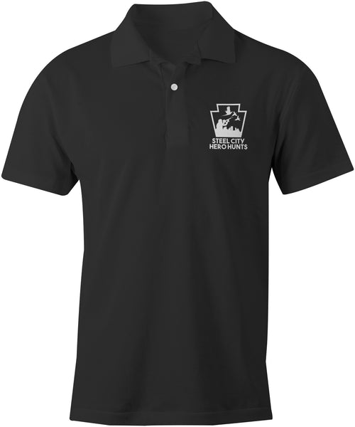 Steel City Hero Hunts Performance Polo