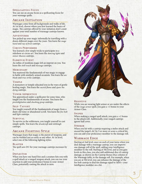 Complete Warmage (PDF)