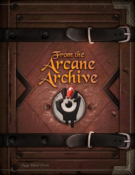 From the Arcane Archive (PDF)