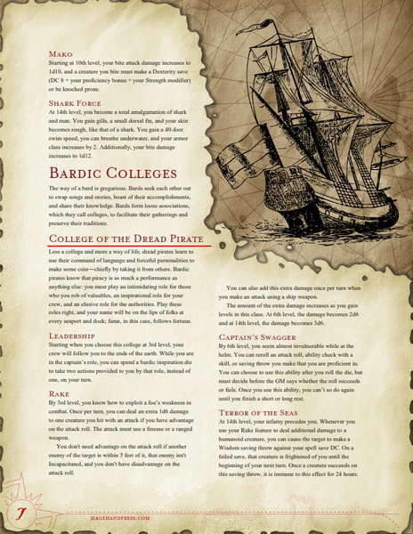 High Seas Update