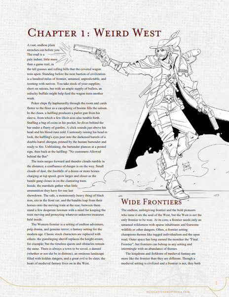 Weird West Update (PDF)