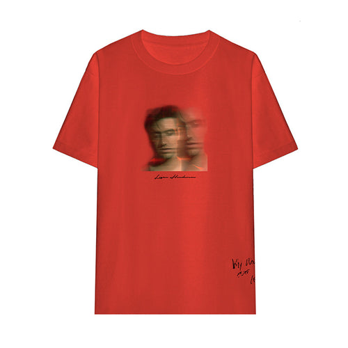 Red Portrait Tee