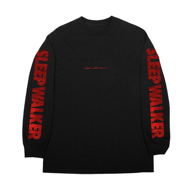Black Sleep Walker Long Sleeve