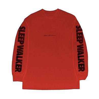 Red Sleep Walker Long Sleeve