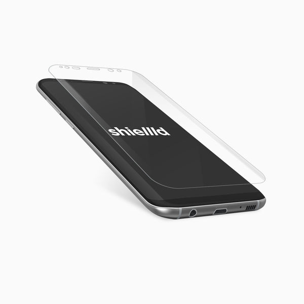 Samsung Galaxy S8 screen protector by shiellld