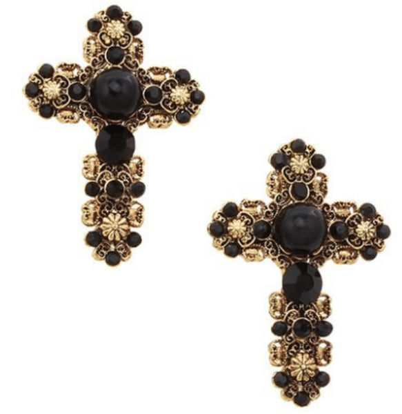 JOLIE & DEEN SAINT EARRINGS - sisterfield