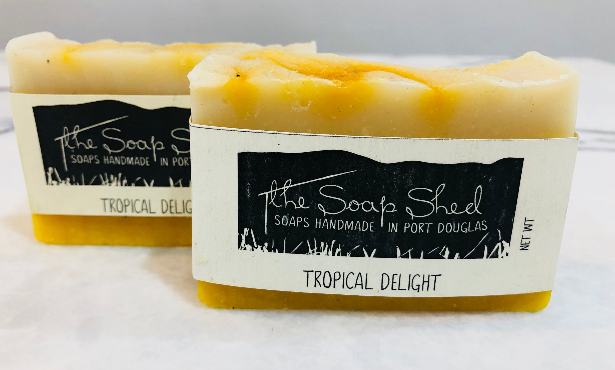 THE SOAP SHED ALL NATURAL SOAPS - TROPICAL DELIGHT - sisterfield