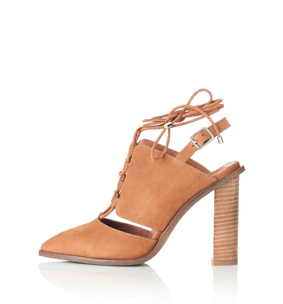 ALIAS MAE ACCENT HEEL - TAN - sisterfield