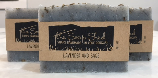 THE SOAP SHED ALL NATURAL SOAPS - LAVENDER AND SAGE - sisterfield