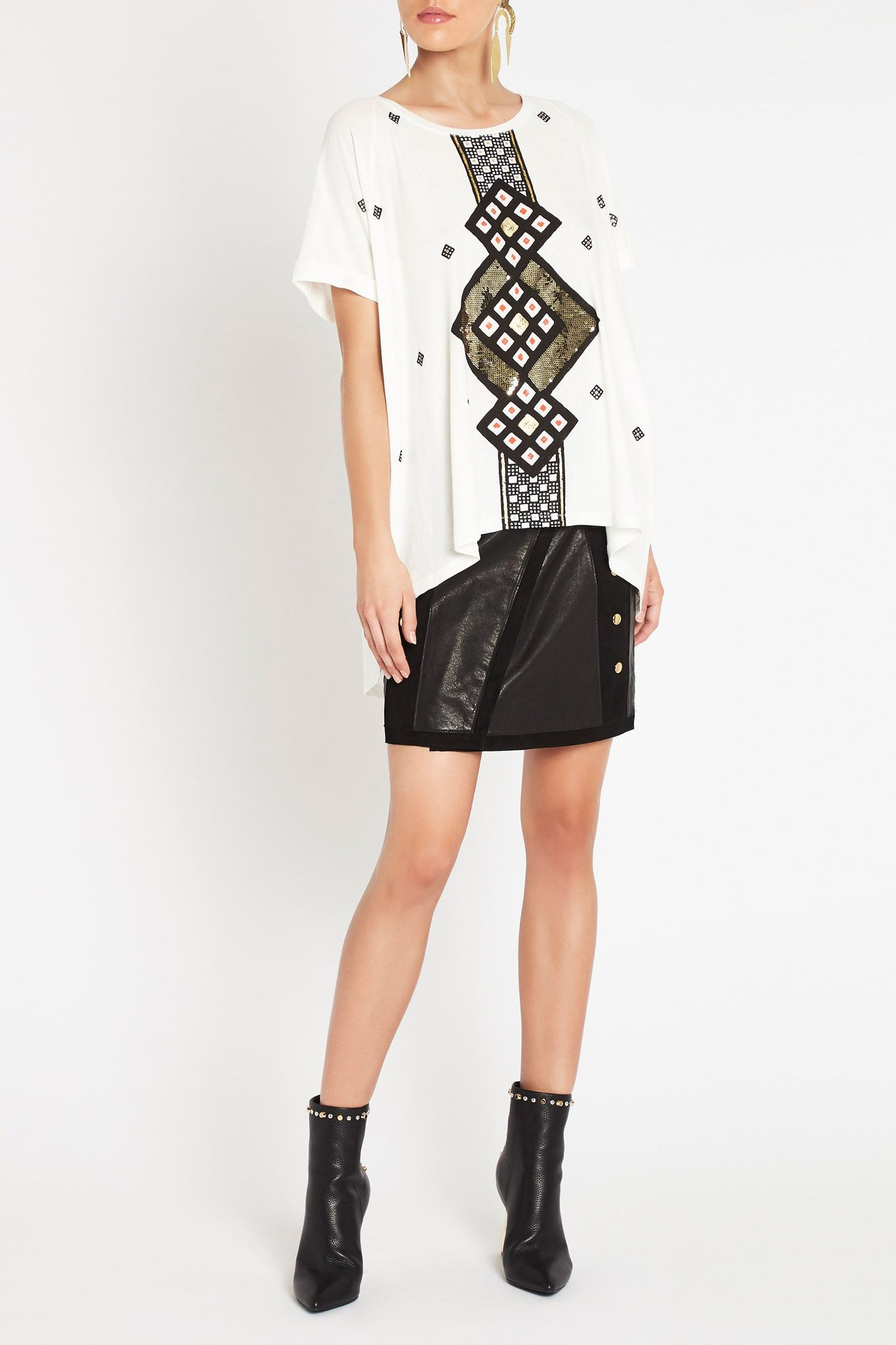 SASS & BIDE FOR THE WORLD TEE - sisterfield