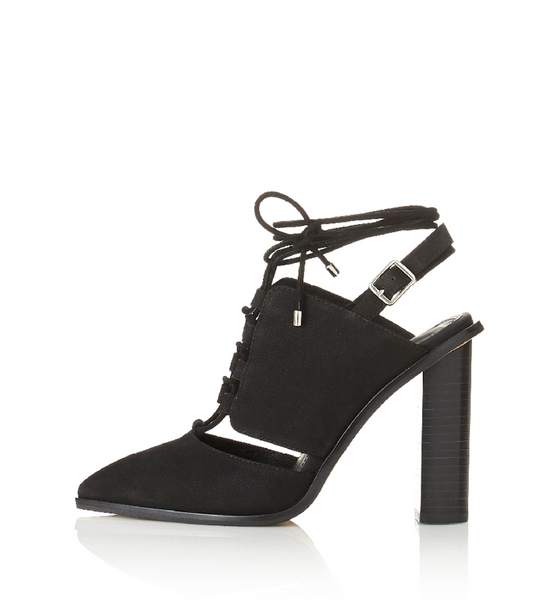 ALIAS MAE ACCENT HEEL - BLACK