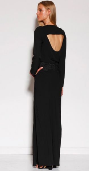 MINISTRY OF STYLE SURRY MAXI DRESS - BLACK - sisterfield