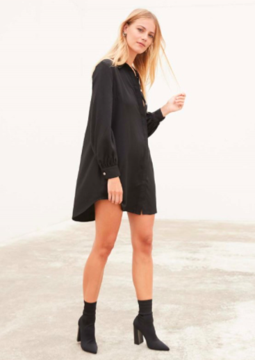 STAPLE THE LABEL MYSTIC SHIRT DRESS - sisterfield