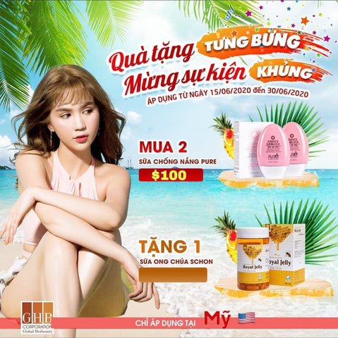 Combo 2 Sunblock 1 Royal Jelly